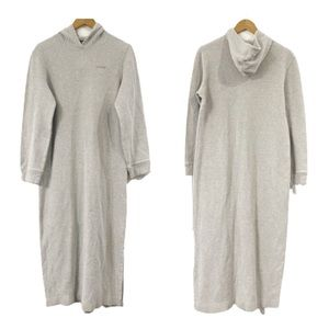 Lauren Ralph Lauren cotton hoodie maxi dress